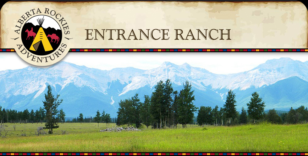 Entrance Ranch Alberta Rockies Adventures