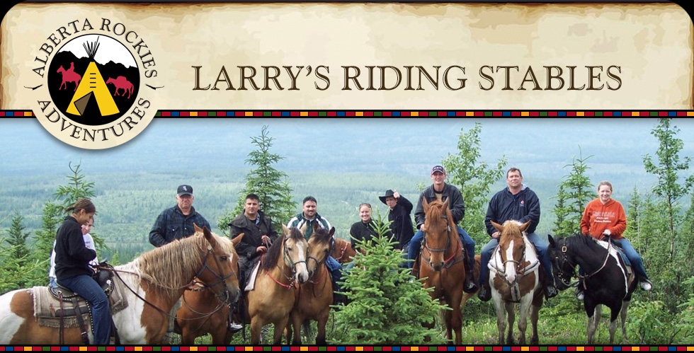 Larry's Riding Stables Alberta Rockies Adventures
