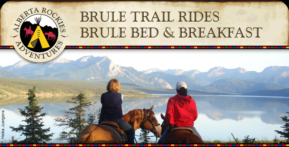 Brule Trail Rides Brule Bed and Breakfast Alberta Rockies Adventures