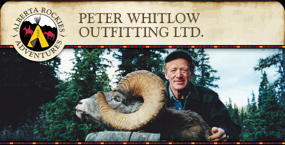 Peter Whitlow Outfitting Ltd. Alberta Rockies Adventures
